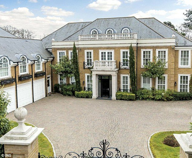 Famous Golfer Colin Montgomorie's Mansion Up For Sale